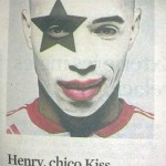 "Thierry Henry, el chico ""KISS"""