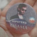 """2 euros por una fotografía, el simbolo de los """"hipsters"""" pro Obama"""